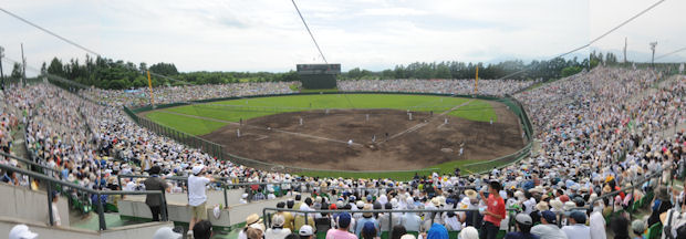 帯広の森野球場